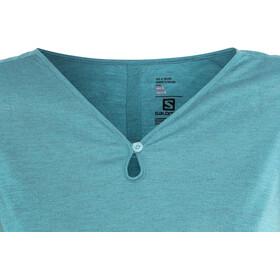 Salomon Ellipse Scoop Camisa Manga Corta Mujer, enamel blue